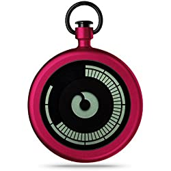 ZIIIRO Pocket Watch - Titan - Cherry