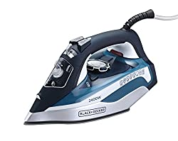Black & Decker X2150 IN 2400-Watt Steam Iron (Blue)