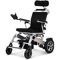 Silla De Ruedas Eléctrica Anciano Discapacitado Coche Anciano Portátil Inteligente Scooter Multifuncional Plegable.