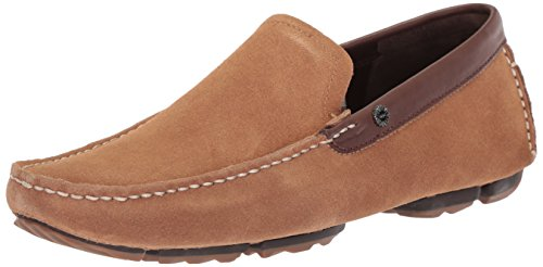 UGG Men's Bel-Air Venetian Driving Style Loafer, Chestnut, 10 M US -