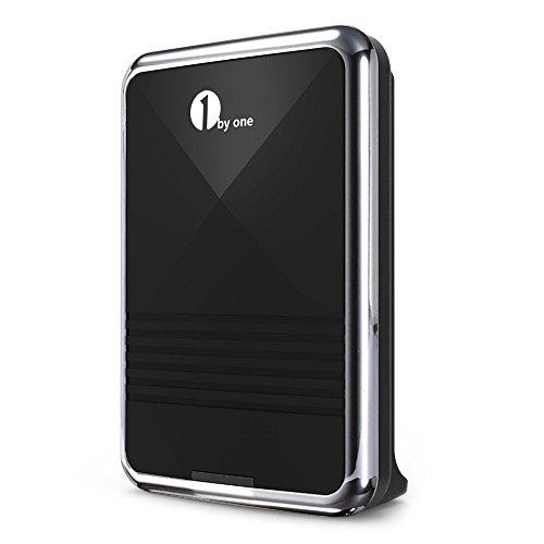 Preisvergleich Produktbild 1byone Easy Chime Klingelknopf Funk Empfnger f¨¹r DIY Notwendigkeit Batteriebetriebenes Schwarze