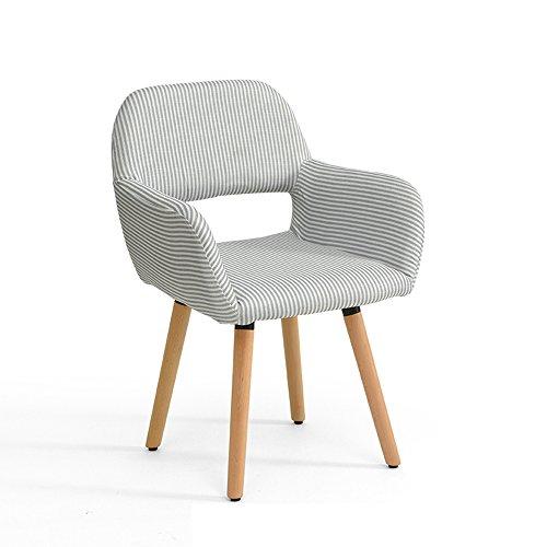 Stool Chaise en Bois Massif/Simple Chaise d'ordinateur Moderne/Nordic Dossier Bureaux et chaises Salle à Manger Chaise 42 * 40 * 79cm (Couleur : A8)