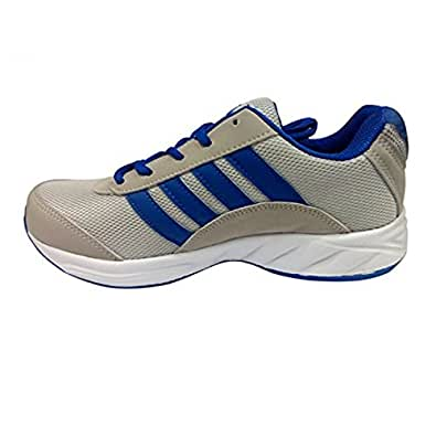 JYSTO Men's Synthetic Leather Sport Shoes Multi color (Size 10)