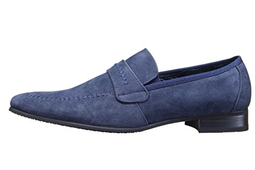 Reservoir Shoes - Chaussure Derbies Anibal Mocassin Marine Bleu