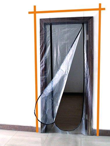 Meister Dammskydd med blixtlås, 4170300  för dörröppning