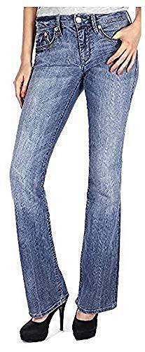 Mavi Damen Jeans Bella; 1069814702 Boot Cut Niedriger Bund Gr. 30/30 Pioneer-boot-jean