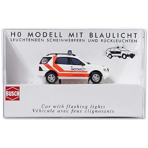 Busch 5631 - Modellismo ferroviario, Auto medica modello Mercedes classe M