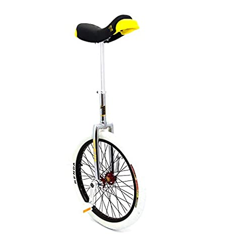Qu-Ax Unicycles CP Professional Freestyle Unicycle - Silver, 20-Inch
