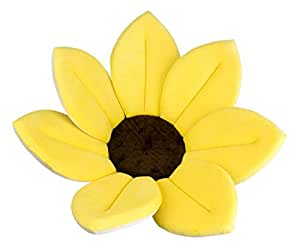 fiore giallo canarino vasca baby supporto battesimo fiori compleanno carino adorabile presente