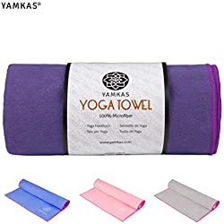 Yamkas Toalla Yoga Antideslizante | 183 x 61cm