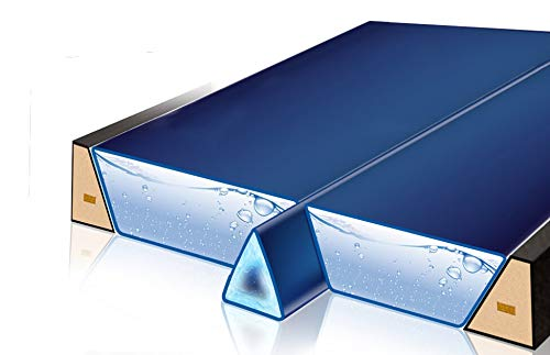 Gelkeil Trennkeil Modell 2018 für Wasserbetten/Thermo Gel-Keil Trennwand Trennung Isolierung (für 200 cm Länge (real 188 cm))