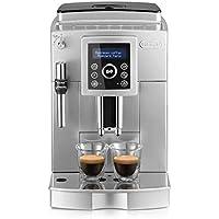 De'Longhi ECAM 23.420.SB Kaffeevollautomat | 1450 Watt | Digitaldisplay | Profi-Aufschäumdüse | Kegelmahlwerk mit 13 Stufen | Herausnehmbare Brühgruppe | 2-Tassen-Funktion | Digitaldisplay | silber/schwarz