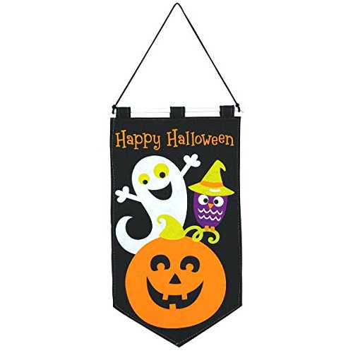 ck or Treat Banner Family Friendly Party, Black, 19 1/2 by Amscan (Trick Or Treat-banner)