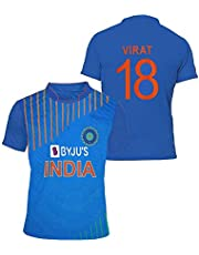uniq Indian Cricket Team ODI Jersey 2018-2019- (for Kids&Men's)