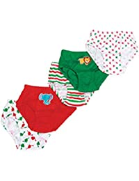 Mee Mee Soft & Comfortable Baby Boys' Briefs (Pack of 5) (4-5 Years, Assorted - Animal Print)
