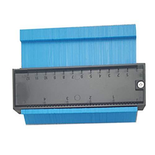 Leobtain 12/25cm Unregelmäßiges Profilmessgerät Carpenter's Accurate Measurement Copy Messgeräte Konturmessgerät Duplizierer Kantenformung Holzmaßlineal