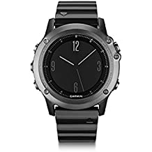 Garmin Fēnix 3 Zafiro - Reloj multideporte con GPS, color negro