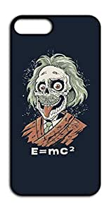 Happoz E=mc2 Einstein Zombie Mobile Phone Back Panel Printed Fancy Pouches Accessories Z1300