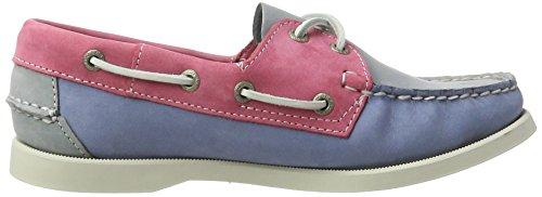 Sebago SPINNAKER Herren Bootsschuhe Mehrfarbig (Gry/lt Blue/pink Nbk)