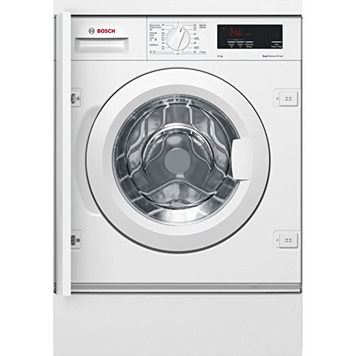 Bosch WIW28300ES - Lavadora (Integrado, Carga frontal, Blanco, Izquierda, LED, Acero inoxidable)