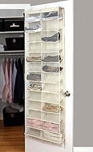 Scarpiera salva spazio da appendere colore grigio eglemtek tm casa e cucina - Portascarpe da appendere ...
