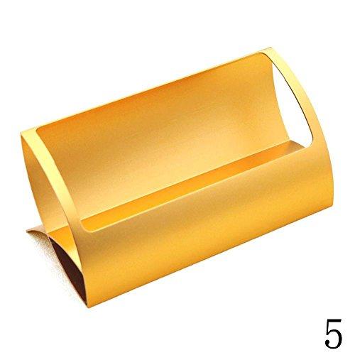 Blue Vessel Aluminium Visitenkartenhalter Destop Business Card Holder (Gold)