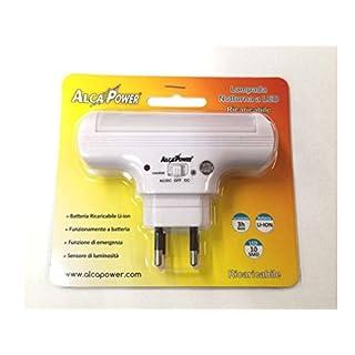 ALCAPOWER - Wiederaufladbare LED-Lampe Nacht - Alcapower 930350