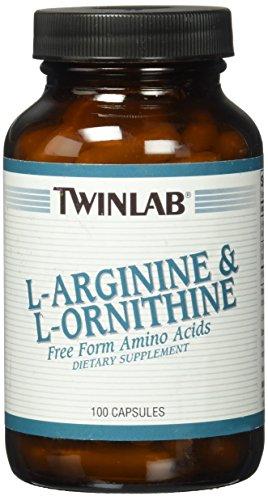 TwinLab L-Arginin cm L-Ornithin, Kapseln, 100 Kaps -