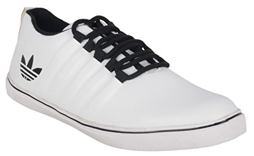 Apple Wood White Synthetic Sneakers