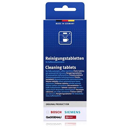 Bosch Siemens Reinigungstabletten Reinigungstabs Kaffeemaschine 310575 00310575 311769 00311769 TZ80001 TCZ8001 TCZ6001 TZ60001 clean protect