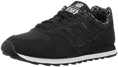 New Balance, Damen Sneaker, Schwarz (Black/WL373KKP), 40.5 EU (7 UK)