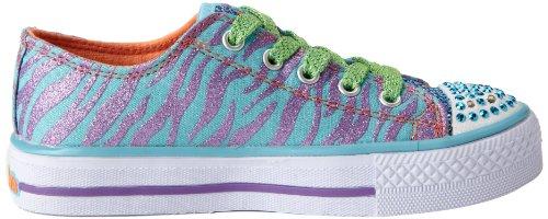 Skechers ShufflesWild Streak 10283L Mädchen Sneaker Türkis (TQPR)