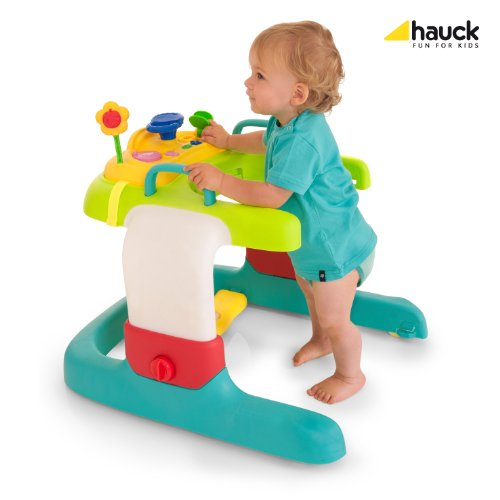 Hauck 2in1 Walker Stripe Lauflerner, Toybar, bunt, gestreifter Sitzeinhang - 6