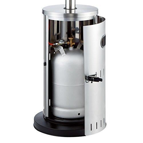 Enders Gas-Terrassenheizer Solid Edelstahl inkl. Sicherheits Kit; - 8