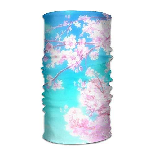 Rghkjlp Headband Sakura Tree Outdoor Multifunctional Headwear,16 Ways to Wear Your Magic Headwear Multicolor14