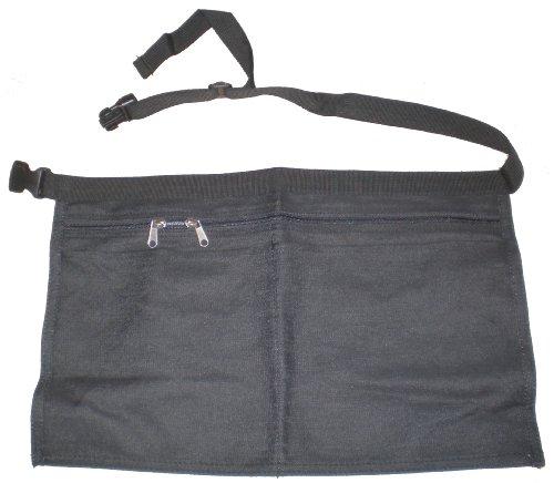 Denim operatore di mercato, Cintura portasoldi nero 45cm x 28cm