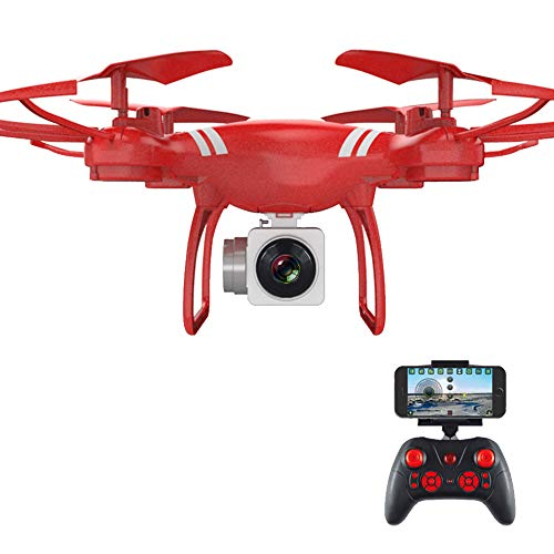 YUnnuopromi WiFi anpassbare Altitude Hold FPV Real Time Camera RC Quadcopter Helicopter Toy Rot 30W - Helicopter Rot Syma