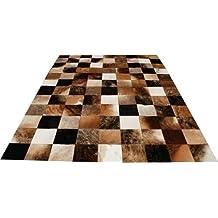 neu kuhfell patchwork teppich vip leather 150 cm x 210 cm