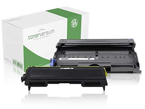 Toner und Trommel kompatibel zu Brother TN-2000 DR-2000 für HL-2030 HL-2040 MFC-7420 MFC-7820n DCP-7010 DCP-7010L Fax 2820 2825 2920 Laserdrucker Spar-Set -