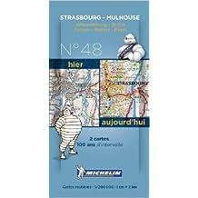 Pack 2 cartes hier/aujourd'hui Strasbourg - Mulhouse Michelin (Anglais) de Collectif MICHELIN ( 16 novembre 2013 )