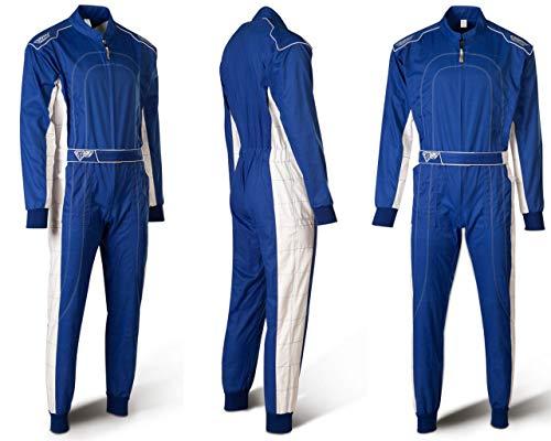 Speed Racewear Combinaison de kart bleu Nouveau mod/èle 2018 XL
