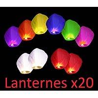 Chino Biodegradable Sky Lanterns Pack de 20