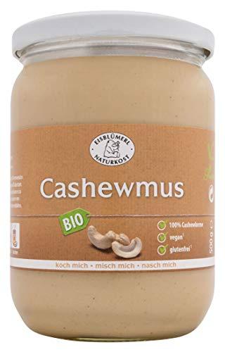 Glas Kokosmilch (Eisblümerl Bio Cashewmus, 1er Pack (1 x 500 g))