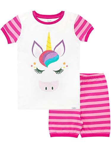 Harry Bear Pijama Corta para niñas Unicornio Rosa 9-10 Años