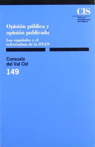 Opinión pública y opinión publicada: Los españoles y el referéndum de la OTAN (Monografías)