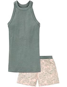 Schiesser Mädchen Zweiteiliger Schlafanzug Anzug Kurz