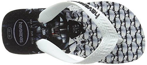 Havaianas Star Wars, Tongs Mixte Enfant Multicolore (White/white)