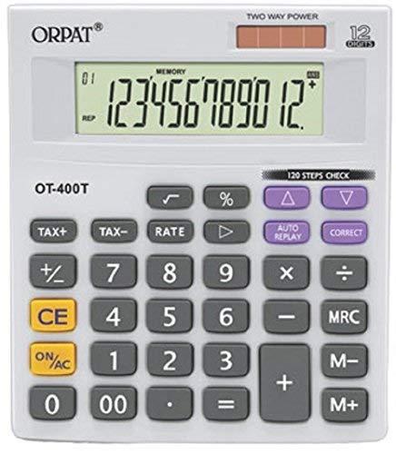 Orpat OT 400T/400GT Calculator (White/Grey)
