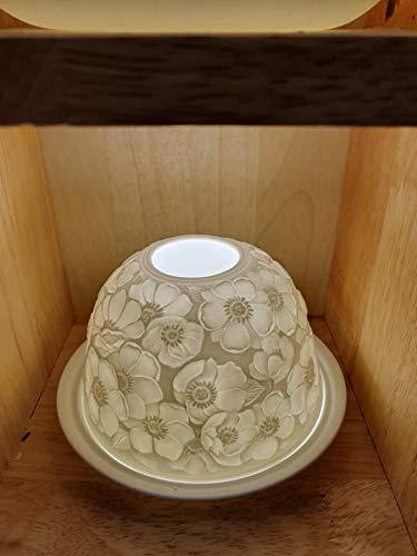 Kolibri Design Nordische Lichter Kerze Schatten ca. 8cms zeigt Beispiel dafür, wie Looks. -