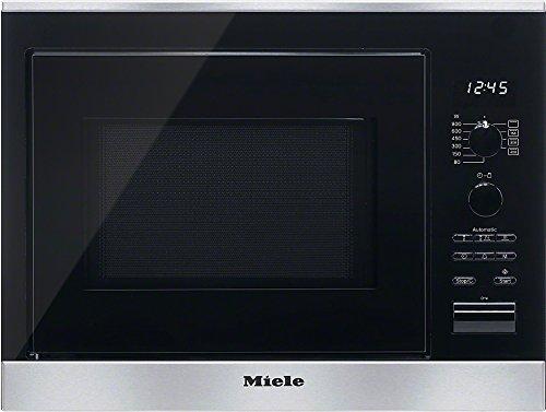 Miele M6022SC D Mikrowelle / 800 Watt / 17 Liter / Edelstahlgarraum / LED-Beleuchtung / edelstahl / clst